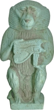 Egyptian_-_Thoth_in_the_Form_of_a_Baboon_with_Udjat_Eye_-_Walters_48475