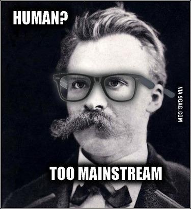 Hipster Nietzsche Meme