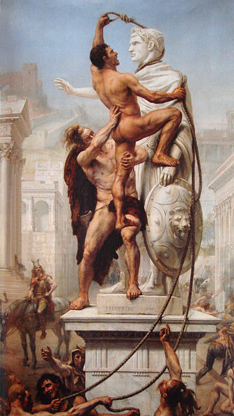 Western Europeans Sacking Rome