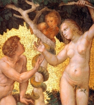 adam and eve garden
