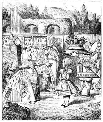 Alice and Queen Garden