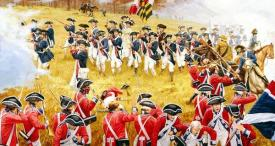 American Revolution battle