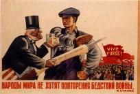 anticapitalist russian propaganda poster