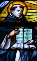 Aquinas stained glass