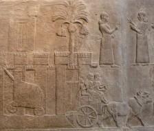 assyrian seige weapon