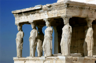 athens acropolis statues