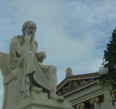 Athens Socrates Statue