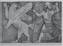 Babylonian Chaos and Sun God