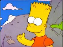 bart simpson sound of one hand clapping