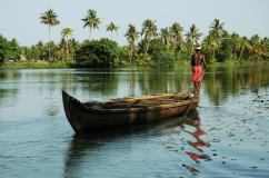 boat india river
