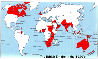 British Empire 1920s