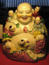 Budai with children