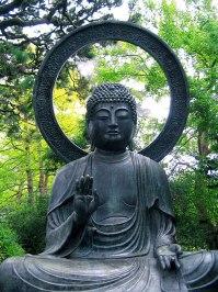 Buddha Statue Japanese Tea Garden San Francisco