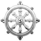 Buddha Wheel grey