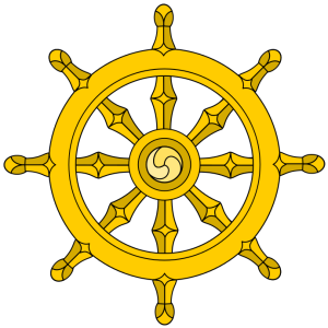 Buddhist Dharma Wheel