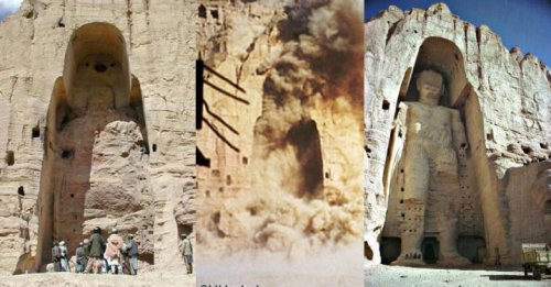 Buddhist Statues destroyed in Afghanistan