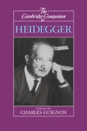 Cambridge Companion to Heidegger