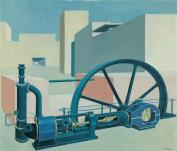 Carl_Grossberg_Komposition_mit_Turbine_1929