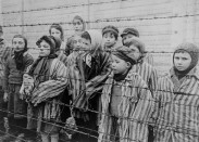 children at auschwitz