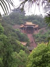 China Leshan Buddhist temples