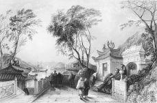 Chinese city harbor