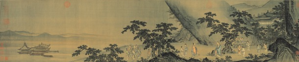 Chinese Painting Inquiring about the Dao