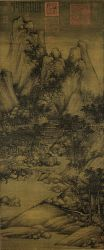 Chinese Painting Landscape Mountains