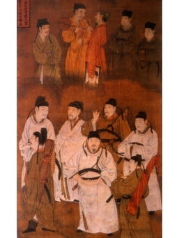 Chinese Scholars Painting