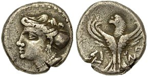 coin from Sinope Diogenes