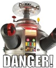 danger robot