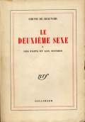 De Beauvoir Second Sex