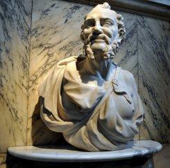 democritus bust