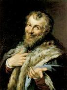 Democritus pinting