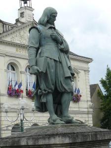 Descartes statue