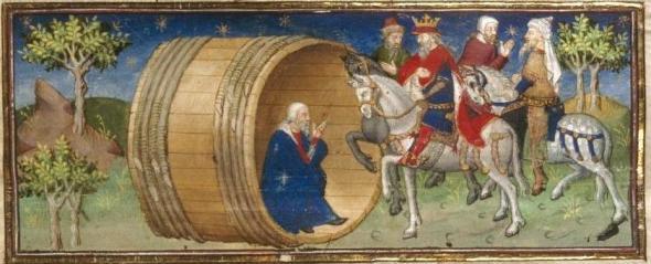 diogenes medieval europe