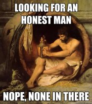 Diogenes meme