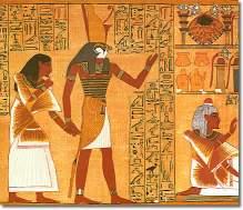 Egypt Horace leads to wisdom