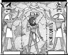 Egypt Water Blessing King