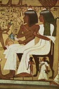 egyptian couple senejem and wife