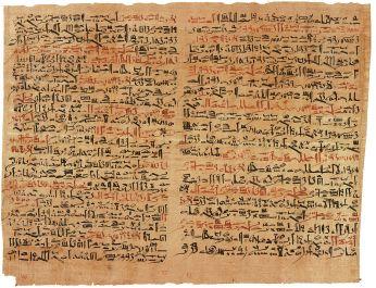Egyptian Medicine Papyrus