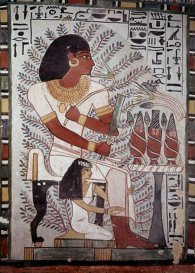Egyptian Sennefer seated