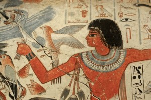 egyptian wall birds