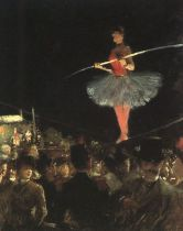 Forain the tightrope walker