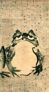 Frog Painting Getsuju