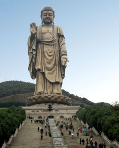 Grand Buddha Ling Shan China