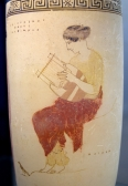 Greek lyre player