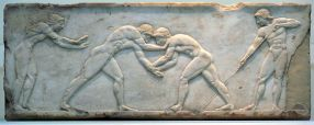 greek wrestlers