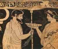 greeks drinking