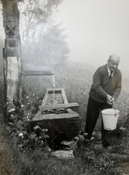 heidegger carries water from his well