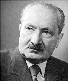 Heidegger portrait
